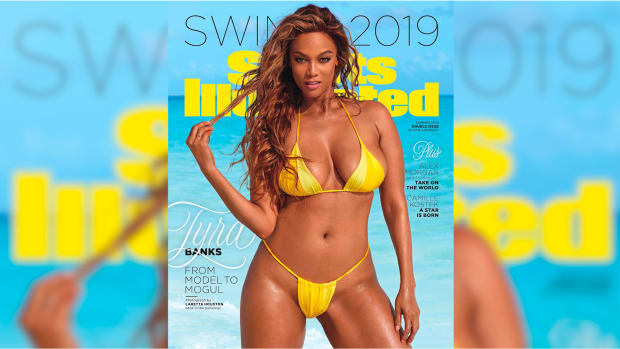 Tyra Banks SI Swimsuit Cover THUMB