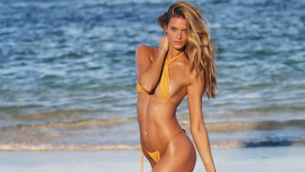 Kate Bock's sixth appearance in the SI Swimsuit issue