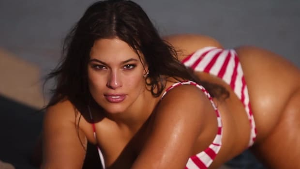 Ashley Graham Rocks Some Barely-There Swimsuits