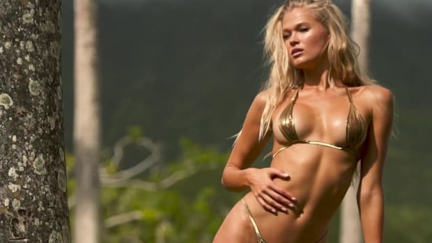 Vita Sidorkina Rocks Her SI Swimsuit shoot in Nevis