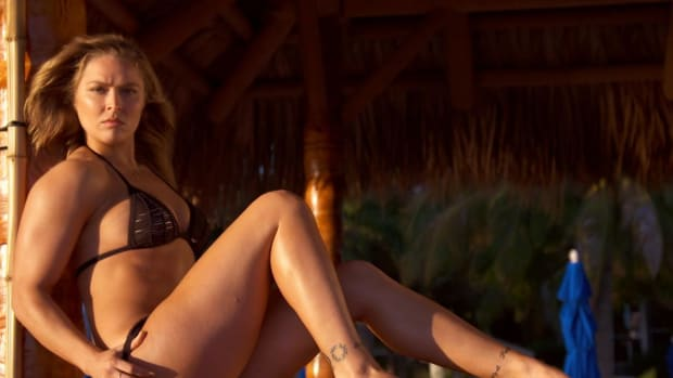 Ronda Rousey's first shoot as an SI Swimsuit model