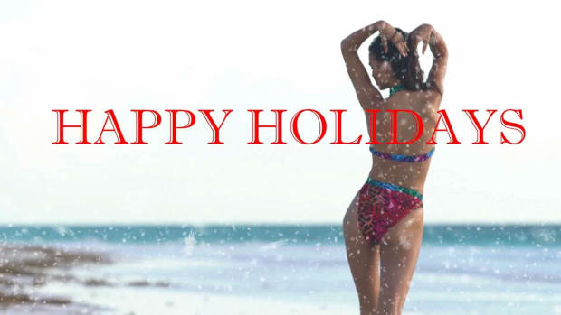 SI Swimsuit 2018 wish you a Happy Holiday