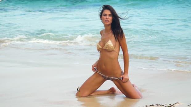 Bianca Balti's SI Swimsuit 2017 Intimates