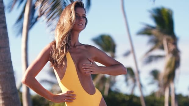 Kate Bock Gets Creative With Her Swimsuit