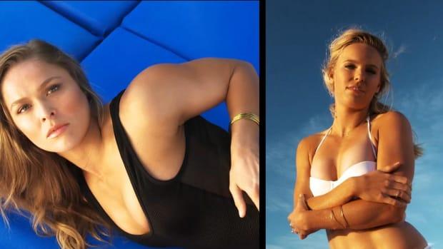 Ronda Rousey vs Caroline Wozniacki
