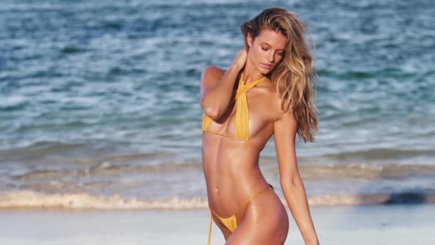 Kate Bock Is a Mega Babe in This New SI Swimsuit video