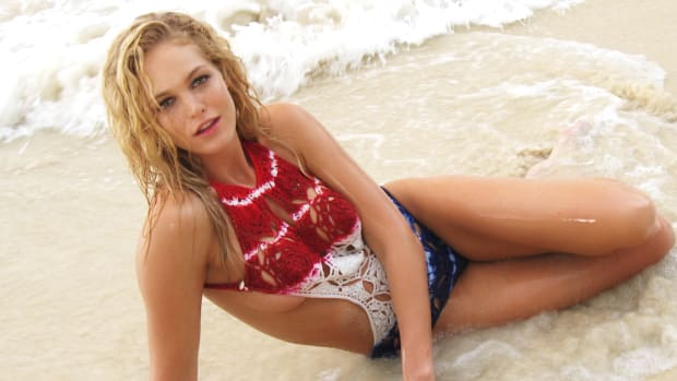 Erin Heatherton, rookie reveal, si swimsuit 2015, victoria's secret, Angel, model, sexy, Erin Heatherton in Swimsuit, SI Swimsuit reveals rookie (image)