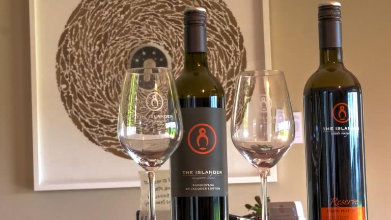 Drink the Afternoon Away at The Islander Estate Vineyards