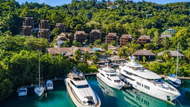 Marigot Bay Resort in St. Lucia