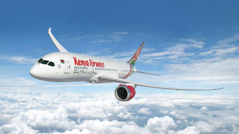 Fly in Style with Kenya Airways