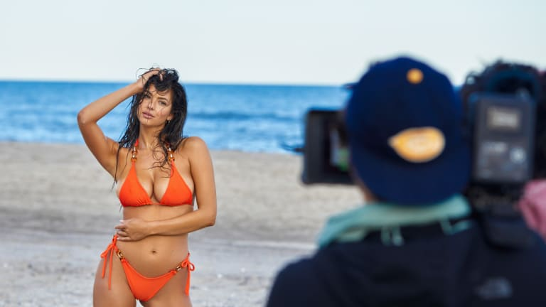 SI Swim Search by Veronica Sams: Behind the Scenes