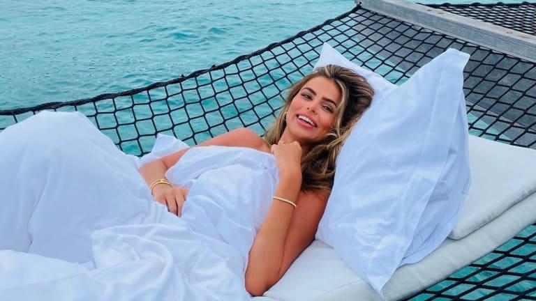 Inside Brooks Nader's (Belated) Honeymoon in the Maldives