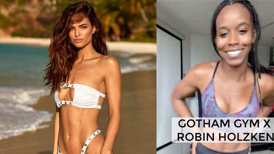 Sweat With Swimsuit: Gotham Gym's Full Body Workout with Robin Holzken
