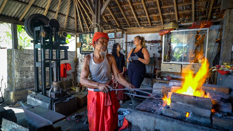Traditional Balinese Weapon Making with Hunter McGrady