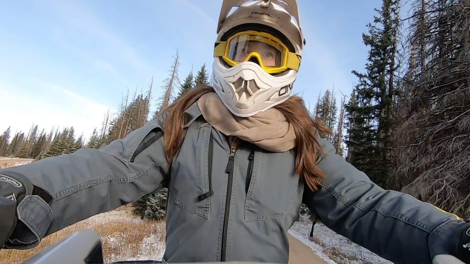 Emily DiDonato ATV Adventure in Medicine Bow National Forest