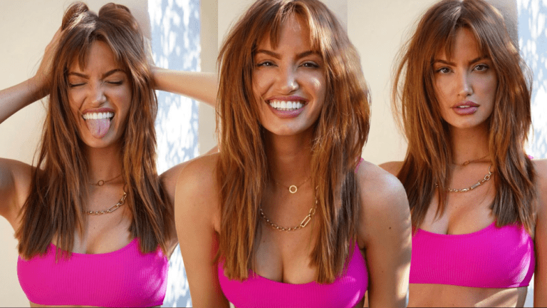 Haley Kalil's 90s Bangs