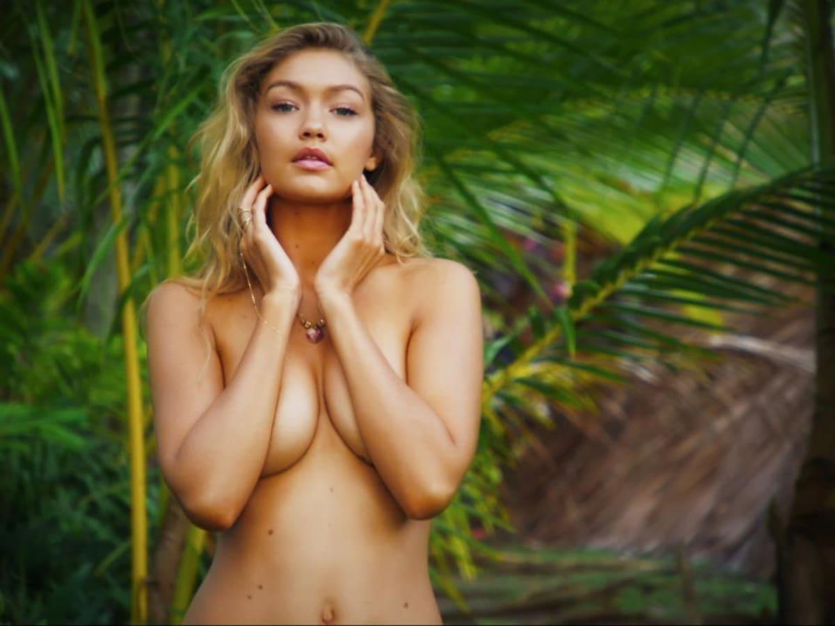 Gigi Hadid  nackt