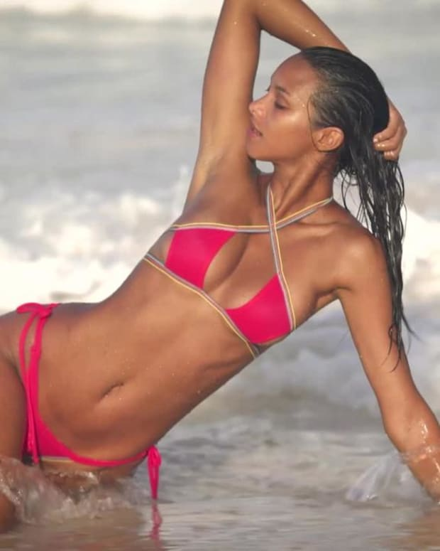 Lais Ribeiro Uncovered SI Swimsuit 2018