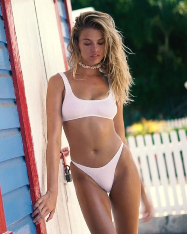 Hailey Clauson Works It On the Streets of The Bahamas