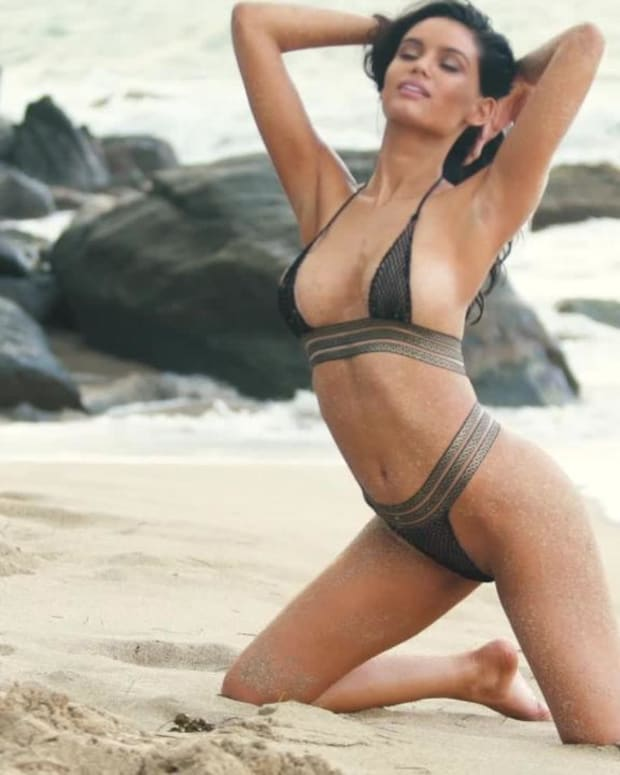 Anne de Paula heats things up in Nevis