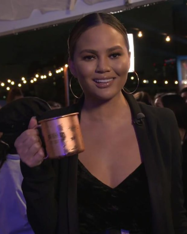 Chrissy Teigen serves up Frito Pie to Si Swimsuit fans--IMAGE