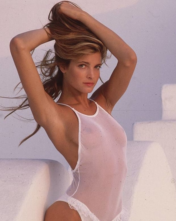 SI Swimsuit model Stephanie Seymour (image)