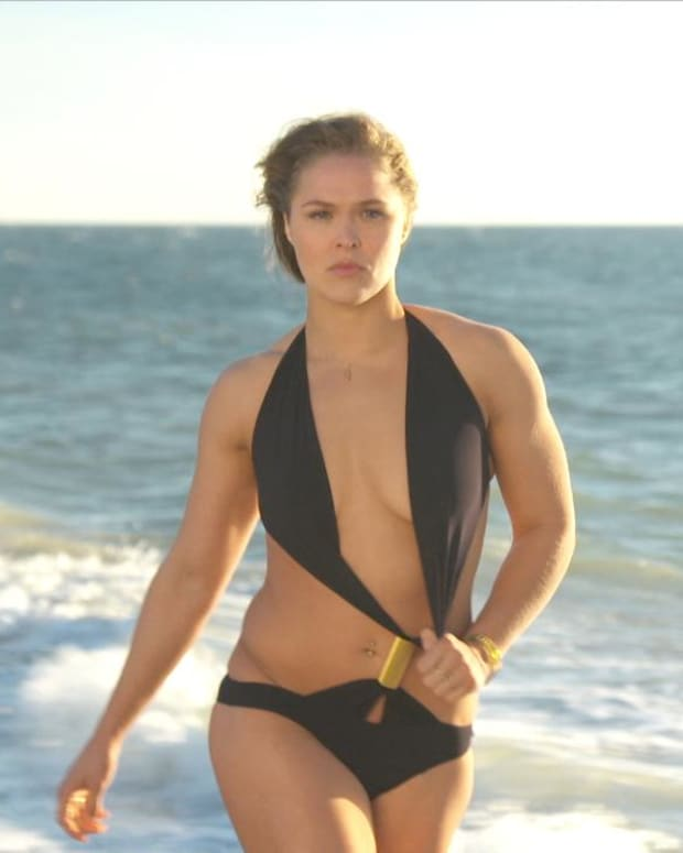 Ronda Rousey, Caroline Wozniacki Swimsuit video 2015 2157889318001_4707242007001_4023907673001-vs.jpg