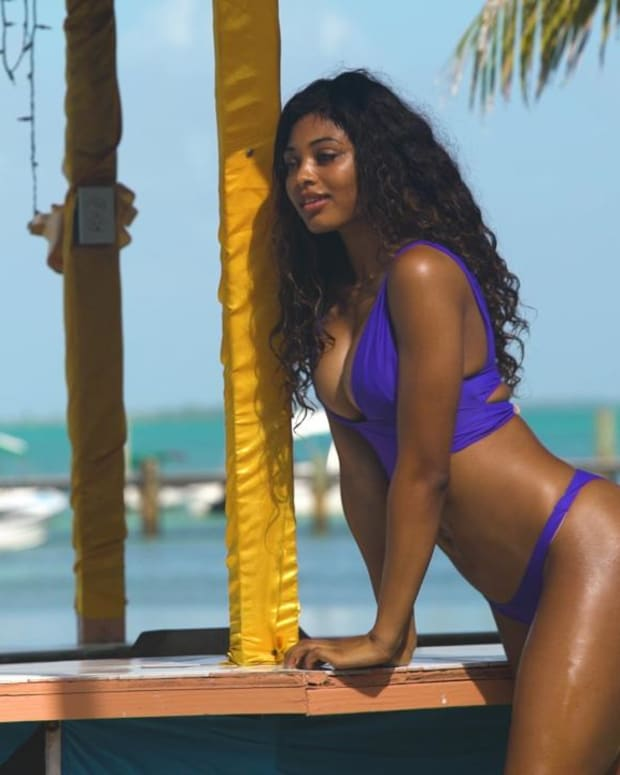 Danielle Herrington SI Swimsuit 2018 Outtakes