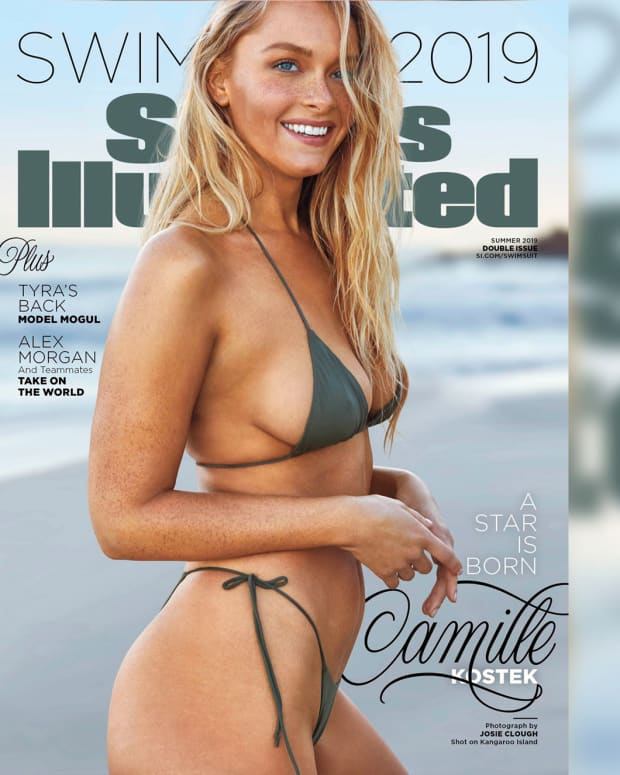 Camille Kostek SI Swimsuit Cover THUMB