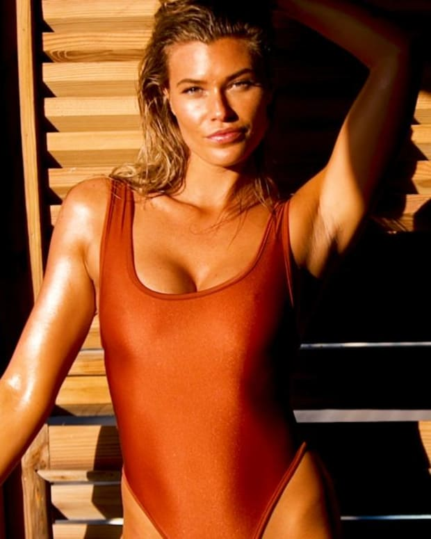 Samantha Hoopes Uncovered SI Swimsuit 2018