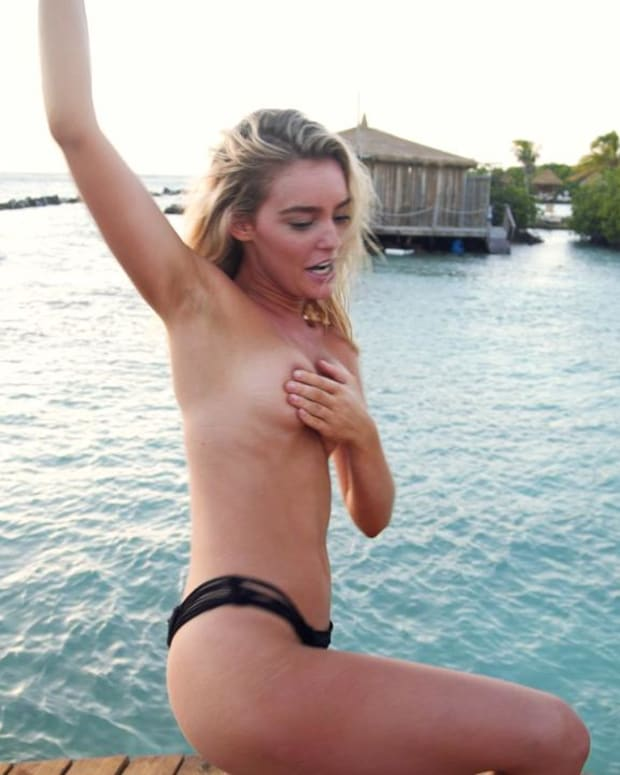 Georgia Gibbs outtakes SI Swimsuit 2018