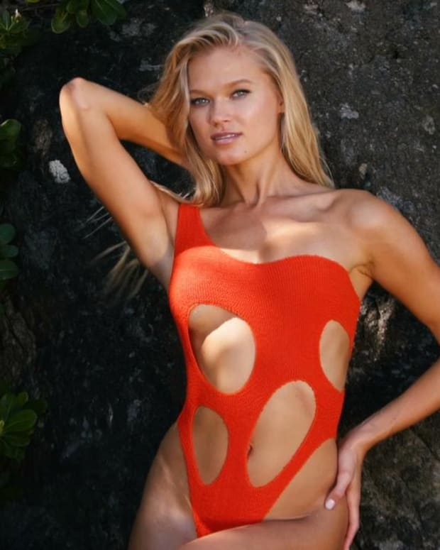 Vita Sidorkina Heats Things up in Nevis