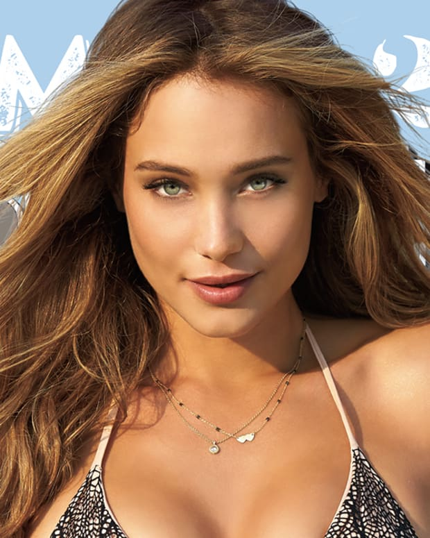 2015 SI Swimsuit cover model Hannah Davis surprised with reveal IMAGE