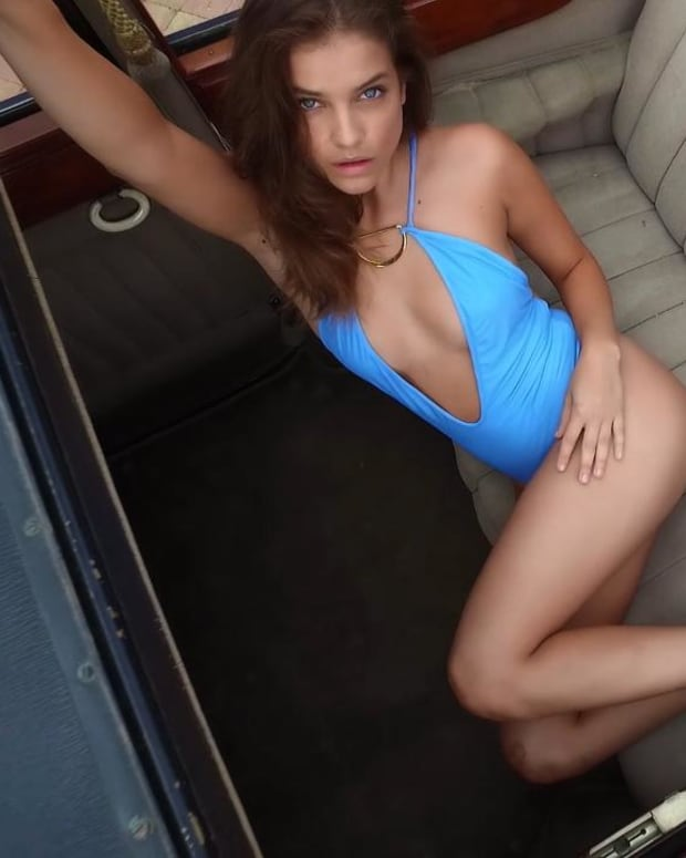 Barbara Palvin's HOT SI Swimsuit shoot