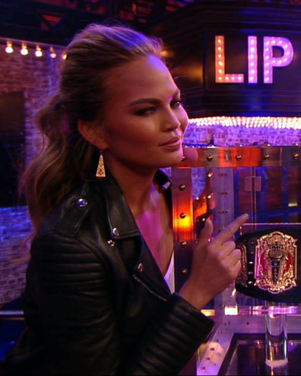 Chrissy Teigen in Lip Sync Battle reel (image)