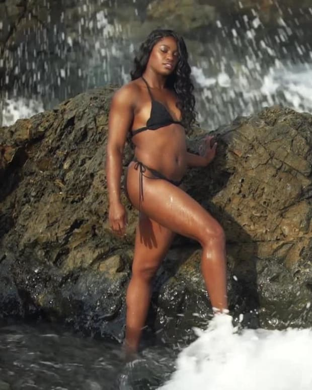 Sloane Stephens Outtakes SI Swimsuit 2018