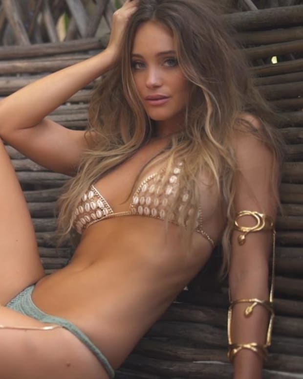 Hannah Jeter Intimates SI Swimsuit 2017