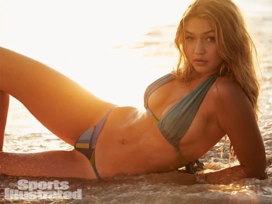 SI Swimsuit 2014: Jersey Shore with Gigi Hadid, Hannah Davis and Sara Sampaio