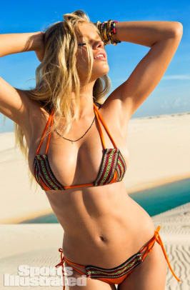 Valerie van der Graaf 2014 Swimsuit 1