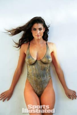Lauren Mellor 2014 swimsuit body paint 1