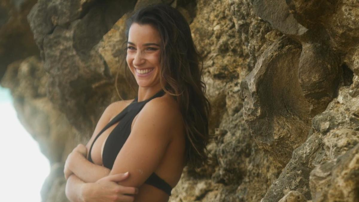 Aly Raisman wears only her words in her latest Sports