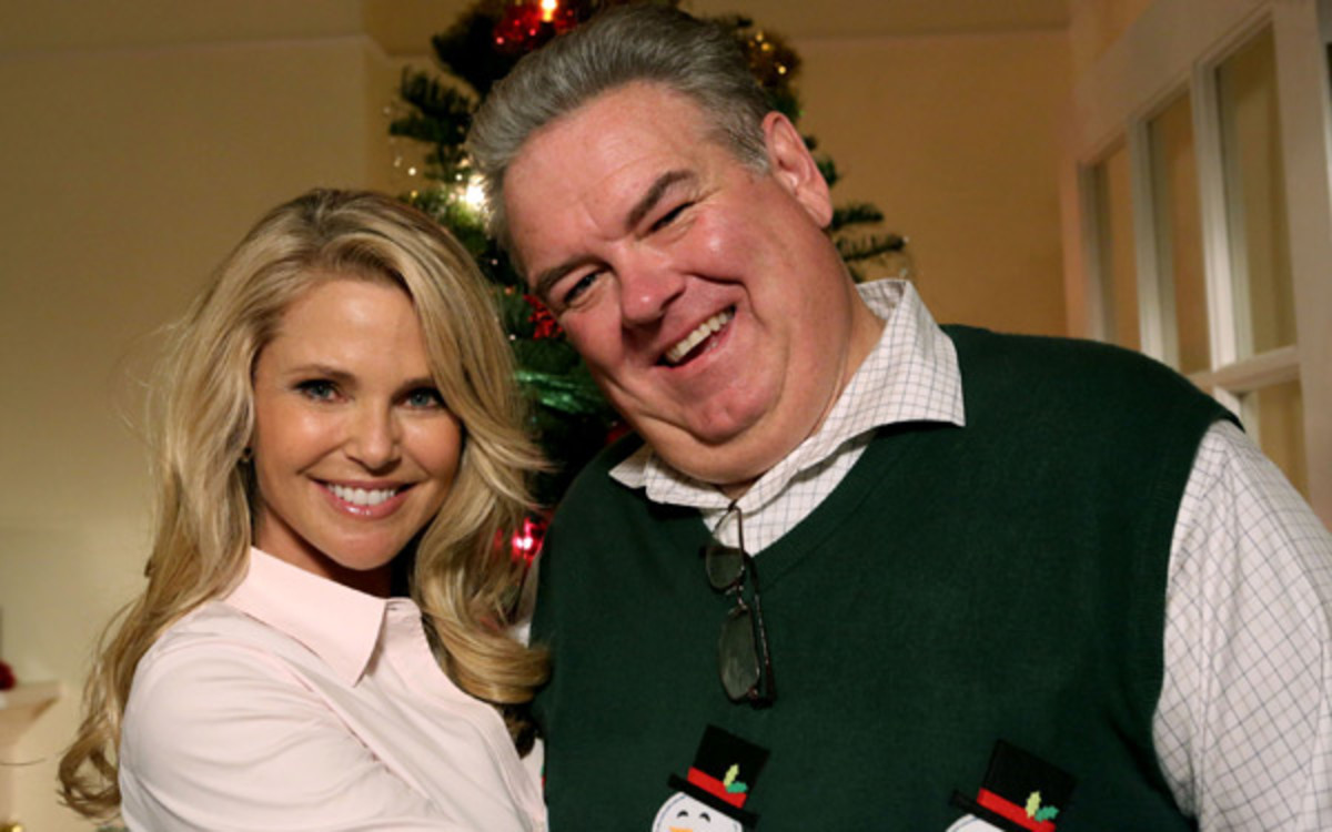 Christie Brinkley and Jim O'Heir :: Getty Images