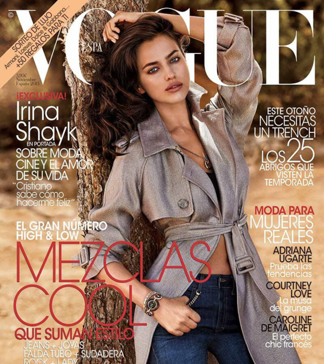 Irina Shayk :: Courtesy of Vogue Spain
