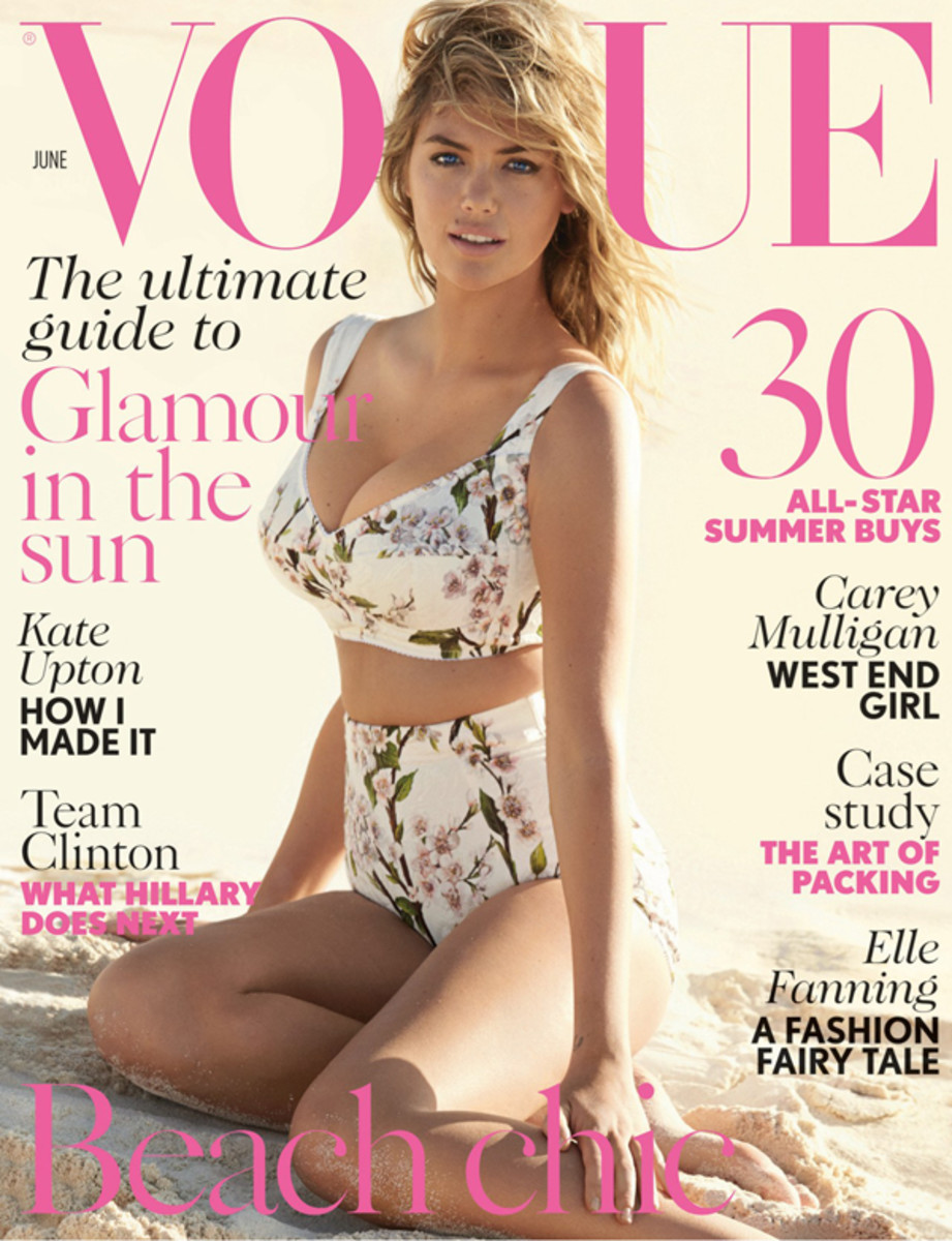 Kate Upton :: Mario Testino for British Vogue