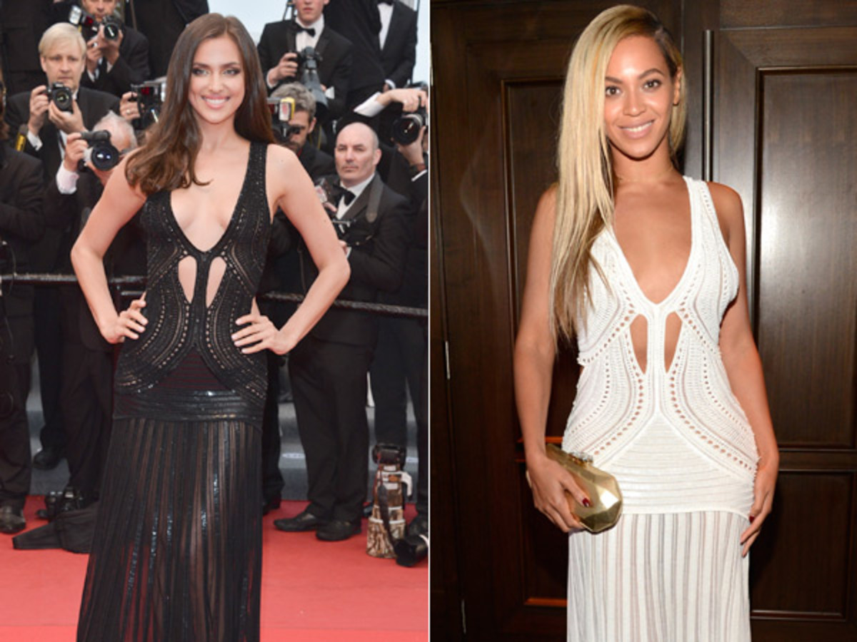 Irina Shayk and Beyonce :: Getty Images