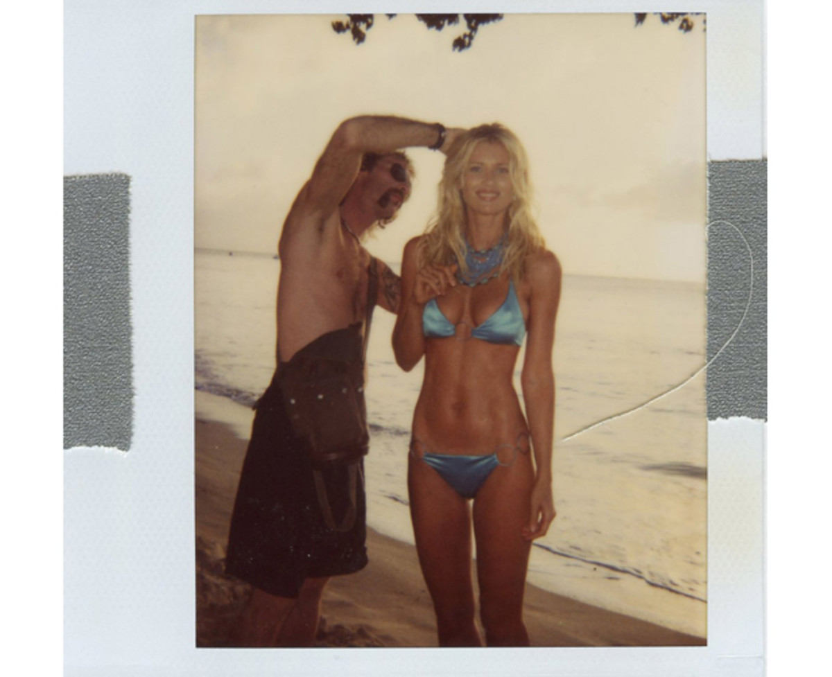 Daniela Pestova in Barbados, 2003 :: Gavin Bond/SI