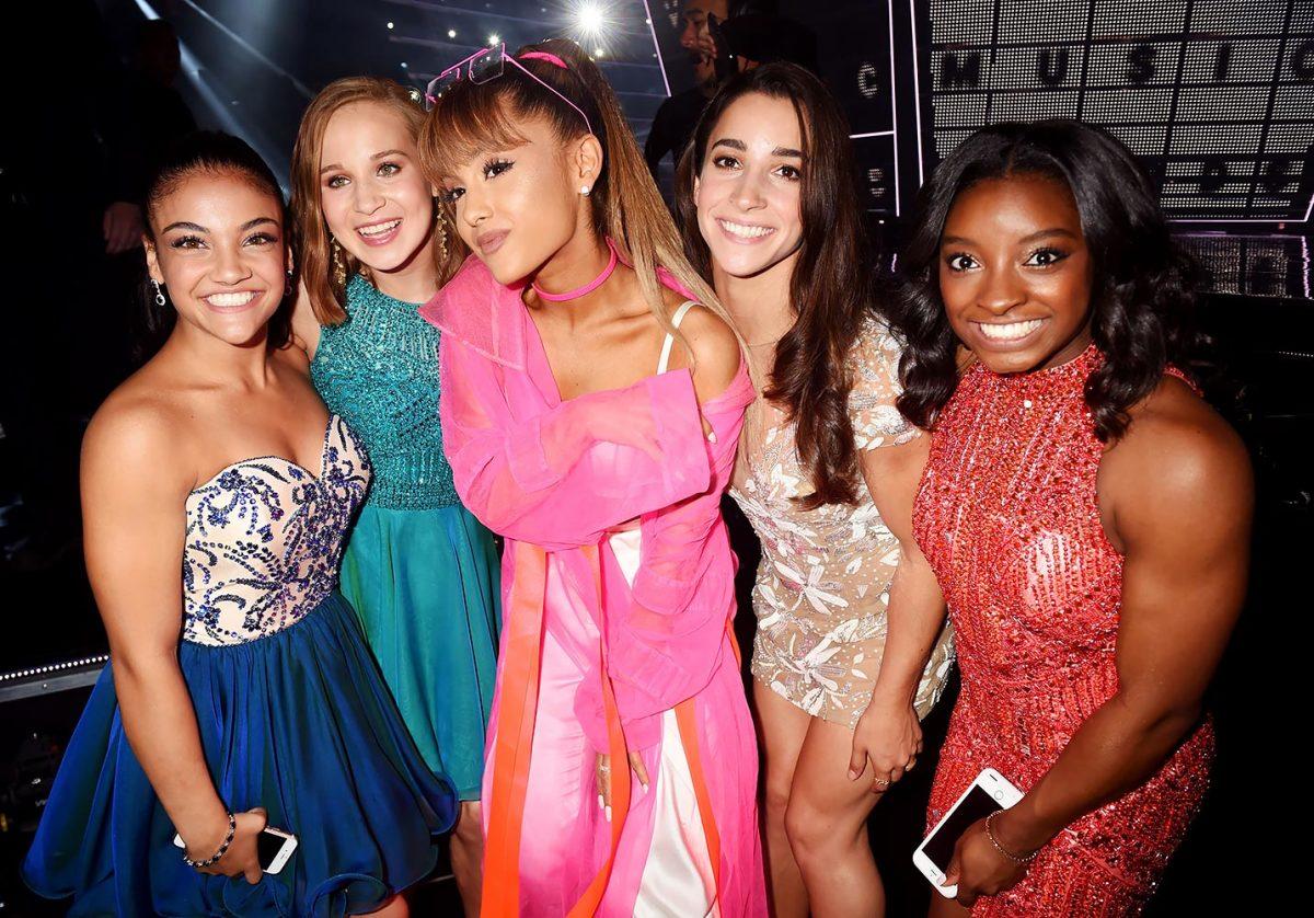 2016-0828-Laurie-Hernandez-Madison-Kocian-Ariana-Grande-Aly-Raisman-Simone-Biles.jpg