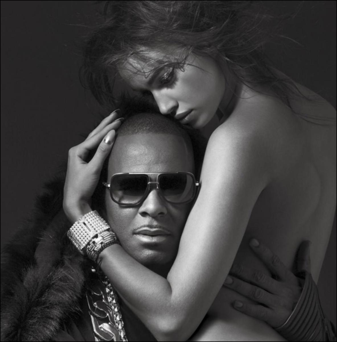 R. Kelly and Irina Shayk :: Albert Watson for V Magazine
