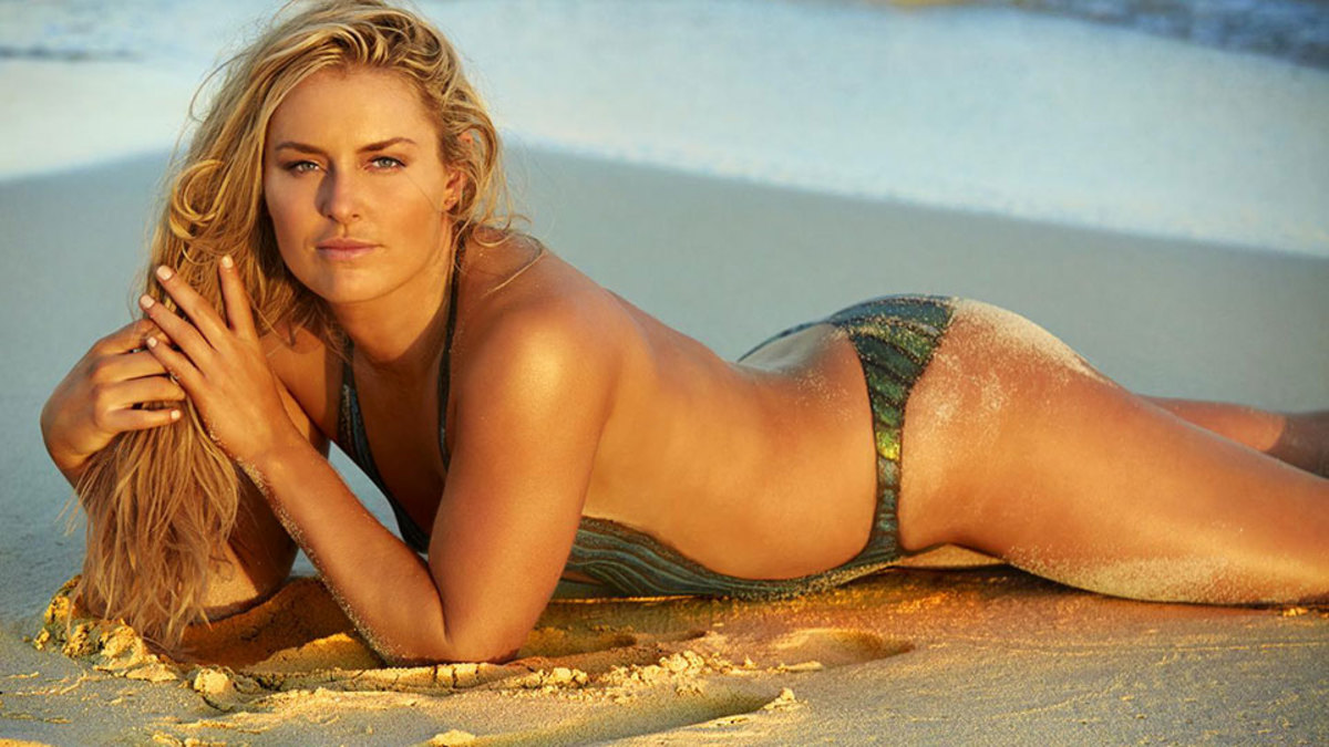 Lindsey Vonn on her bum: 'I've got a lot of junk in my trunk.''