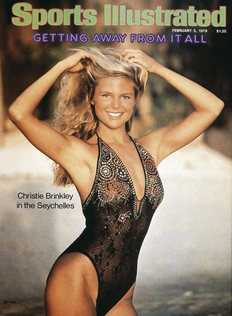 Christie Brinkley in the Seychelles